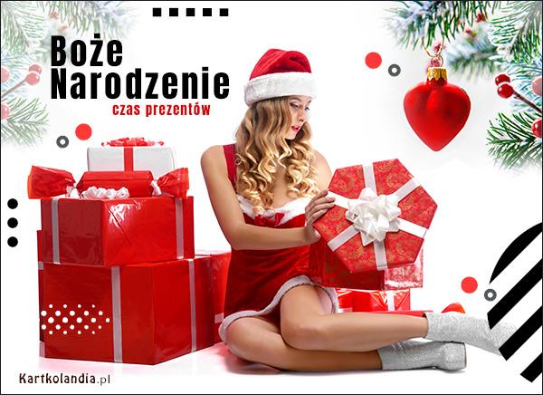 eKartki Boże Narodzenie Czas świątecznych prezentów!,