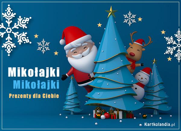 e-Pocztówka Mikołajki