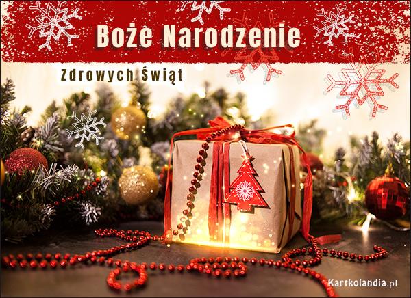 eKartki elektroniczne z tagiem: Bożonarodzeniowy Stroik Magiczna atmosfera świąt!,