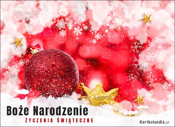 eKartki elektroniczne z tagiem: Bożonarodzeniowe Życzenia Śnieżne święta - Życzenia świąteczne!,