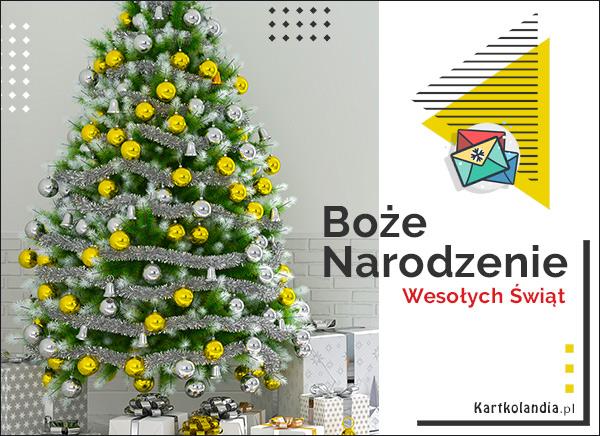eKartki elektroniczne z tagiem: Bożonarodzeniowe Prezenty Pocztówka z choinką!,