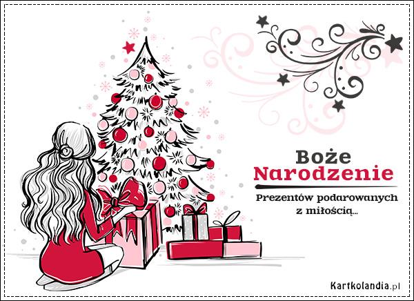 Podarki na Boże Narodzenie