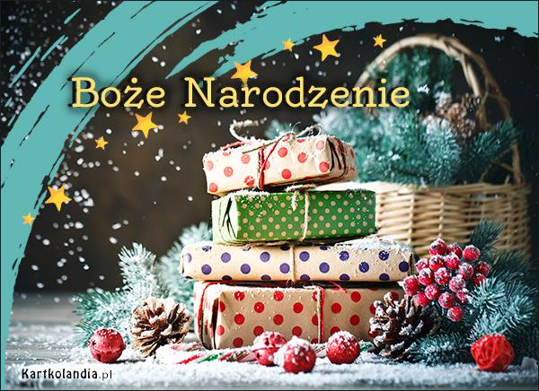 eKartki elektroniczne z tagiem: Bożonarodzeniowy Stroik Prezenty na święta,