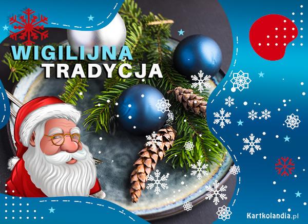 eKartki elektroniczne z tagiem: Bożonarodzeniowy Stroik Wigilijna tradycja!,