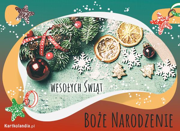eKartki elektroniczne z tagiem: Bożonarodzeniowy Stroik Świąteczna dekoracja,