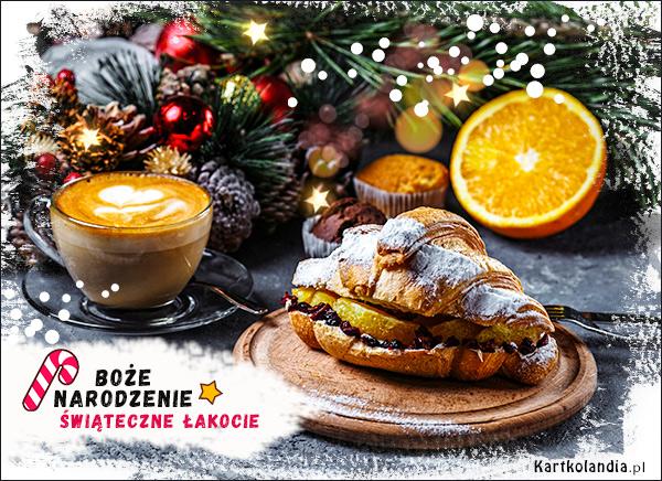 eKartki elektroniczne z tagiem: Kawa Świąteczne łakocie,