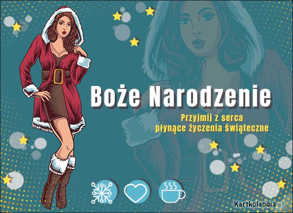 eKartki elektroniczne z tagiem: Bożonarodzeniowe Życzenia Życzenia z serca płynące...,