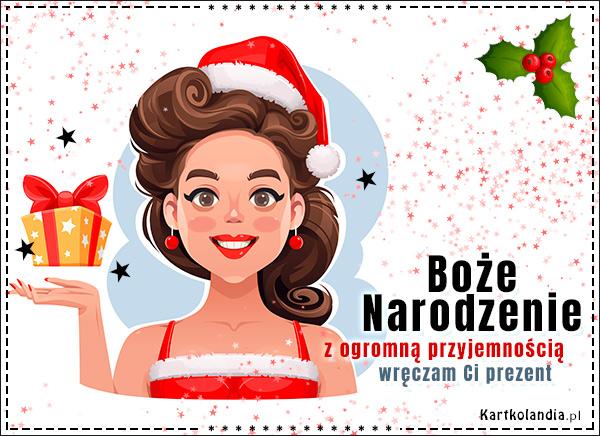 eKartki elektroniczne z tagiem: Bożonarodzeniowe Prezenty Z ogromną przyjemnością,
