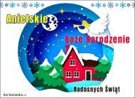 eKartki Boże Narodzenie Anielskie Boże Narodzenie,