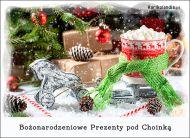 eKartki Boże Narodzenie Bożonarodzeniowe prezenty pod choinką,