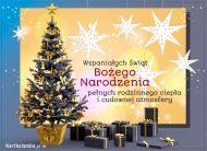 eKartki elektroniczne z tagiem: Bożonarodzeniowe Prezenty Cudowna atmosfera świąt!,