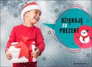 eKartki Boże Narodzenie Dziękuję za prezent!,