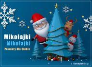 eKartki elektroniczne z tagiem: Mikołaj e-Pocztówka Mikołajki,