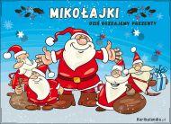 eKartki Boże Narodzenie Ekipa Świętego Mikołaja,
