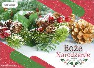 eKartki Boże Narodzenie Kartka Śnieżne Boże Narodzenie,