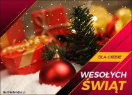 eKartki elektroniczne z tagiem: Bożonarodzeniowe Bombki Kartka z życzeniami!,