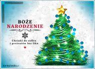 eKartki elektroniczne z tagiem: Kartka bożonarodzeniowa Magiczna choinka,