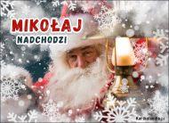 eKartki Boże Narodzenie Mikołaj nadchodzi...,