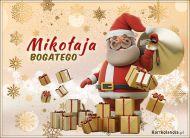eKartki Boże Narodzenie Mikołaja bogatego!,
