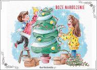 eKartki elektroniczne z tagiem: Bożonarodzeniowa Choinka Najwspanialsza z chwil,
