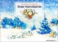eKartki Boże Narodzenie Ogłaszamy Boże Narodzenie,
