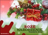 eKartki elektroniczne z tagiem: Kartka bożonarodzeniowa Pocztówka na Boże Narodzenie,