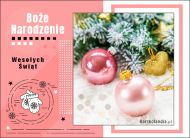 eKartki elektroniczne z tagiem: Kartka bożonarodzeniowa Pocztówka świąteczna,