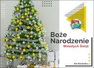 eKartki Boże Narodzenie Pocztówka z choinką!,