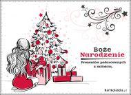 eKartki elektroniczne z tagiem: Kartka bożonarodzeniowa Podarki na Boże Narodzenie,