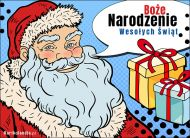 eKartki Boże Narodzenie Prawdziwy Mikołaj,