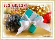eKartki elektroniczne z tagiem: Kartka bożonarodzeniowa Prezent świąteczny,