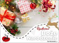 eKartki elektroniczne z tagiem: Kartki bożonarodzeniowe Radosne Boże Narodzenie,