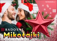 eKartki Boże Narodzenie Radosne Mikołajki,