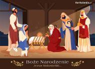 eKartki elektroniczne z tagiem: Bożonarodzeniowa Kartka Religijna Trzej Królowie,