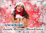 eKartki Boże Narodzenie Uwielbiam Boże Narodzenie,