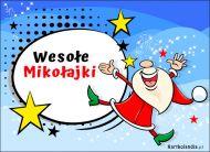 eKartki Boże Narodzenie Wesołe Mikołajki,
