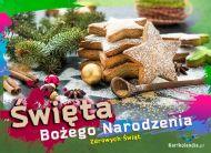 eKartki Boże Narodzenie Świąteczne ciasteczka,