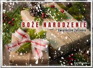 eKartki elektroniczne z tagiem: Kartka bożonarodzeniowa Świąteczne prezenty,