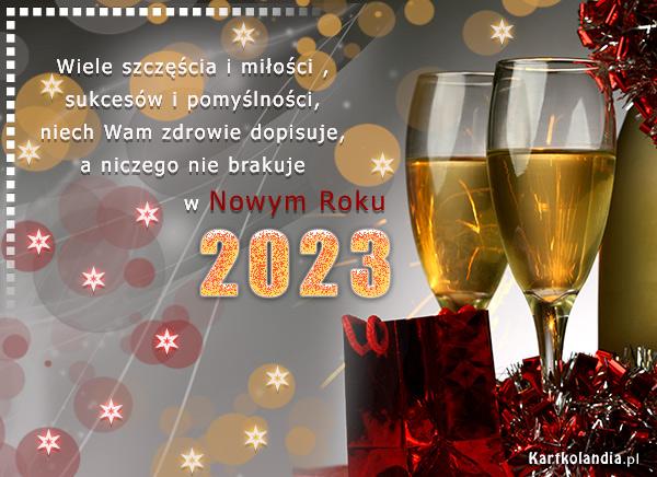 Sukcesów w Nowym Roku 2019