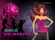 eKartki Nowy Rok Disco Sylwester,