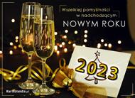 eKartki Nowy Rok Nadchodzi Nowy Rok,