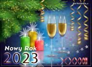eKartki elektroniczne z tagiem: e-Kartka noworoczna Noworoczny blask,