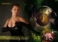 eKartki Nowy Rok Noworoczny toast,
