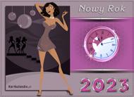 eKartki Nowy Rok Nowy Rok wybija,