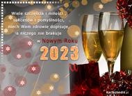 eKartki Nowy Rok Sukces�w w Nowym Roku 2015,
