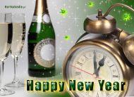 eKartki Nowy Rok Szampan dla Ciebie,
