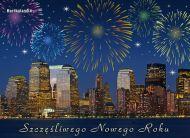 eKartki Nowy Rok Szczęśliwego Nowego Roku,
