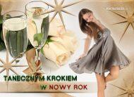 eKartki Nowy Rok Tanecznym krokiem w Nowy Rok,