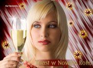 eKartki Nowy Rok Toast w Nowym Roku,