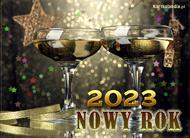 eKartki Nowy Rok Wspaniałego Nowego Roku,